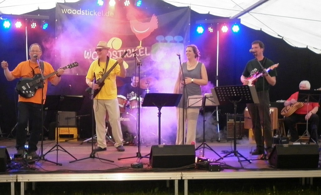 Cat Hill Bluesband live auf dem WOODSTICKEL 2015